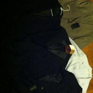Hugo Boss Suit Lot The James/Sharp 2 Mens Polo Ralph Lauren 6 Suits