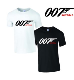 James Bond 007 Skyfall Tshirt Skyfall Movie T Shirt Vest Top Daniel