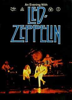 LED Zeppelin 1977 North American Tour Original Concert Program Book