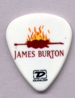 James Burton Signature Guitar Pick Elvis Ricky Nelson Emmylou Harris