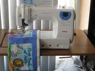 Janome Model 6300 Quilting Sewing Machine