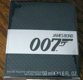 RARE James Bond 007 Mens Spray Cologne 1 6 oz 50th Anniversary Skyfall