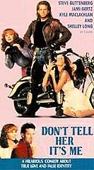 DonT Tell Her Its Me Jami Gertz Shelley Long VHS 026359021831