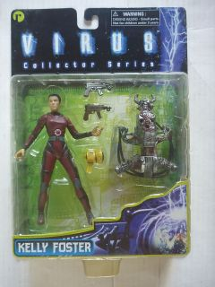 Kelly Foster Toy Action Figure Resaurus 1998 Jamie Lee Curtis