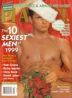 PLAYGIRL Dec 1999 JAMES VAN DER BEEK Ricky Martin CHRIS ROCK Pierce