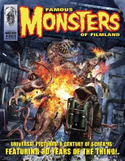 Monsters Of Filmland 263 The Thing John Carpenter James Whale Mezco