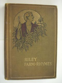 Farm Rhymes with Country Pictures by Will Vawter James Whitcomb Riley