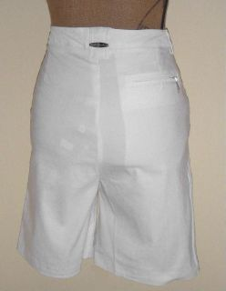 Jamie Sadock Sugar Pure White Golf Tennis Shorts Sz 10
