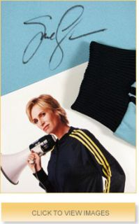 Glee Star Jane Lynch Signed RARE Sue Sylvester Track Suit