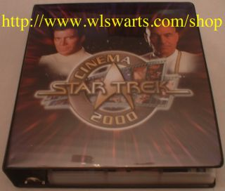 Star Trek Cinema 2000 MASTER set of 290 cards RARE MINT Includes ALL