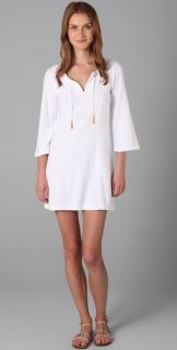 Juicy Couture Bell Sleeve Tunic Dress with Gold Tassels