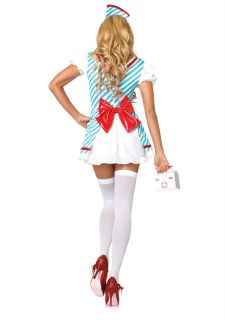 Halloween Fancy Dress Cosplay Battlefield Nurse Costume Uniform