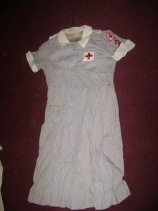 World War II Red Cross Nurse Uniform with 2 Stripes