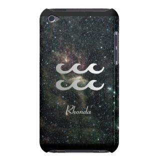 Aquarius Zodiac Star Sign Universe iPod Touch Cover