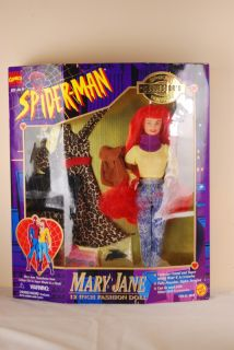 Marvel Spiderman Special Edition Mary Jane 12 Barbie Doll Figure 1995