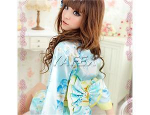 Womens Babydoll Kimono Japanese underwear Dress Costume + G string