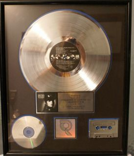 JANET JACKSON Rhythm Nation 1984 RIAA Certified Platinum Record Award
