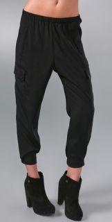 Vince Cropped Cargo Pocket Pants