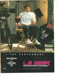 Jason Bateman L A Gear Shoes Full Page Ad