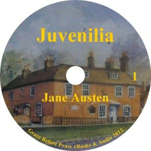 Jane Austens Juvenilia by Jane Austen A Classic Audiobook on 1  CD