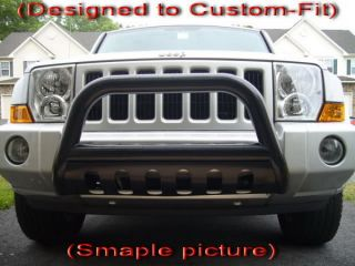 Brand New 06 11 Jeep Commander Black Grille Bumper Bull Guard Light