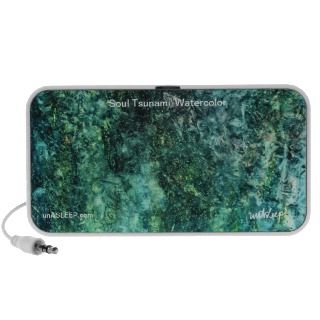 Soul Tsunami Watercolor MP3 Speakers