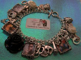 Jared Leto 30 Seconds to Mars Charm Bracelet