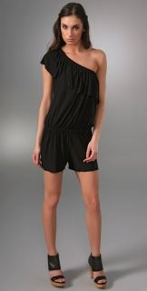 Tbags Los Angeles One Shoulder Romper