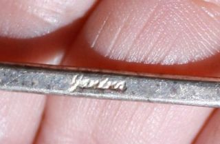 Large Modernist Sterling Silver Denmark Hair Piece by Janina