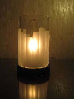 Jasper Conran Stuart Crystal Ice Hurricane Lamp MSRP475