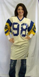 1984 89 Shawn Miller Los Angeles Rams Game Used Jersey