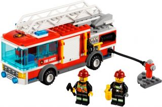 JANUARY 2013 LEGO CITY FIRE TRUCK 60002, NIB & ON HAND, GREAT GIFT!!