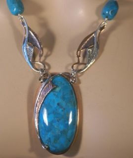Jay King MINE FINDS Anhui Turquoise COPPER & Sterling Silver Necklace