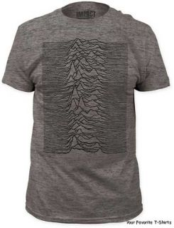 Joy Division Unknown Pleasures Tri Blend Officially Licensed Adult