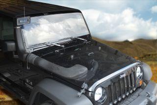 Air Intake System w Snorkel Kit 07 11 Jeep Wrangler JK 3 8L V6