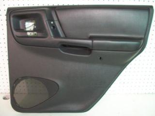 Jeep Grand Cherokee Interior Door Panel Rear Right