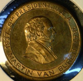 Martin Van Buren US MINT Version #2 Commemorative Bronze Medal   Token