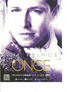 Once Upon A Time Josh Dallas Full Page Promo Ad
