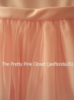 Jayne Copeland Pink Satin Tulle Dress Sz 5