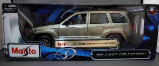 Special Edition 1 18 Scale Series 2005 Jeep Grand Cherokee
