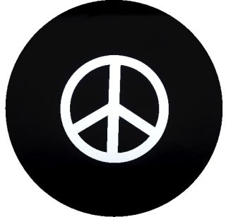Peace Sign Jeep Spare Tire Cover Trailer SUVs RV