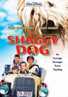 The Shaggy Dog Disney Live Action Comedy 1959 DVD New