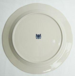 Blue Transferware Porcelain Castle Scene 10 inch Plate