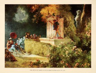 In Print Fete Saint Cloud Jean Honore Fragonard Puppet Show Festival