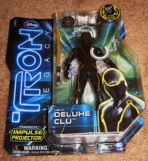 Jeff Bridges Signed Tron CLU Deluxe Action Figure Proof