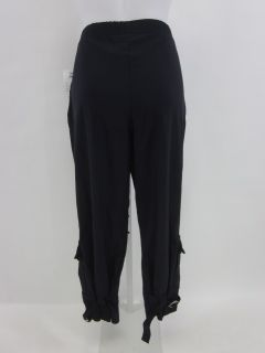 Jean Marc Philippe Navy Cropped Pants Slacks 4 $249