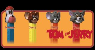 Pez Singles MGM Tom Jerry Series Tuffy 4 9 Austria