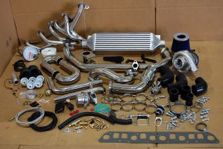 1999 Jeep Wrangler TJ 4 0L i6 4LTURBOCHARGER Kit Package New Custom