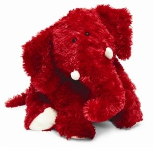 Jellycat Large Truffle Red Elephant Plush Stuffed Animal