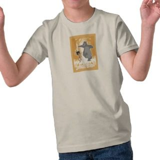 Jungle Book Mowgli And Baloo Disney Tee Shirts